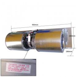 Ventilador completo Tadiran Type: 6383333