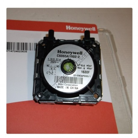 Honeywell Pressure Switch C6065FH1227:2