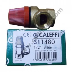 "6 bar safety valve 1/2 ""M"