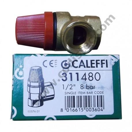 "6 bar safety valve 1/2 ""M"