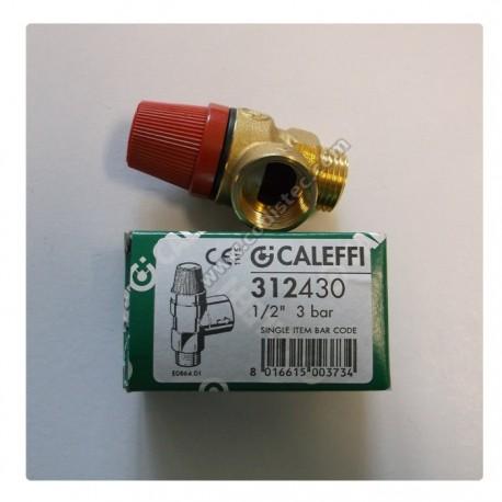 "Caleffi 311480 8 bar safety valve 1/2 ""M"