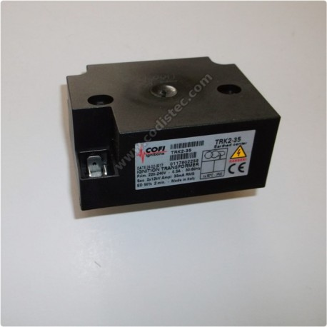 Ignition transformer COFI TRK2-30PVD 1X15 KV