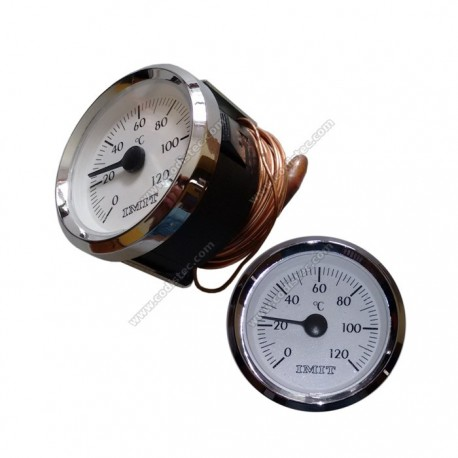 Termómetro c/ Capilar 0 a 120ºC 200cm
