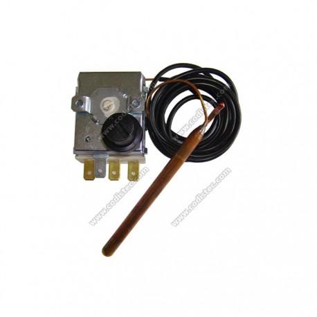 100 º thermostat set manual reset