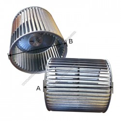 Turbina 26x28 para ventilador