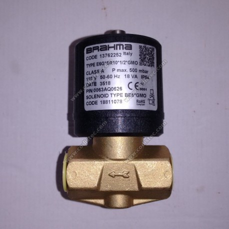Solenoid valve Brahma Type E6G*SR10*1/2*GMO