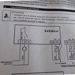Digital thermostat EVCO EV3201N7