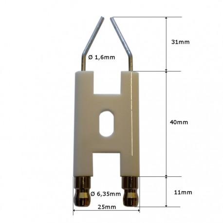 Eléctrodo de ignição Lamborghini Eco 3-5-7-14-22