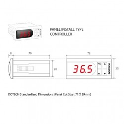 Termóstato digital FX3D-Dual 150ºC 2 relés / 2 sondas