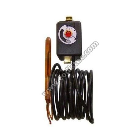 Termostato regulável 90º a 110º c/ rearme manual