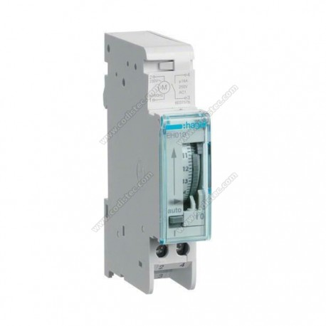 Programmable timer hager EH010