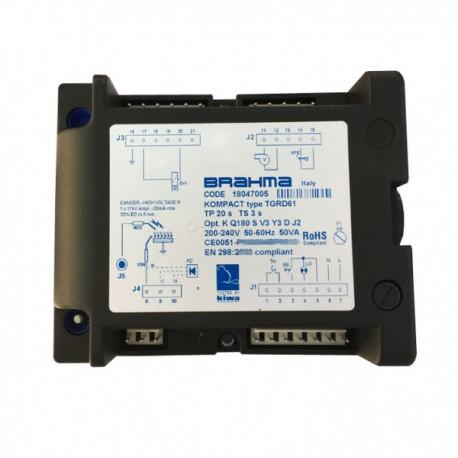 Electronic controller BRAHMA Type TGRD61 code 18047005