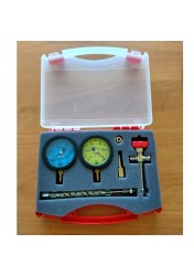 Kit pressure gauges for diesel pumps (vacuum + pressure)