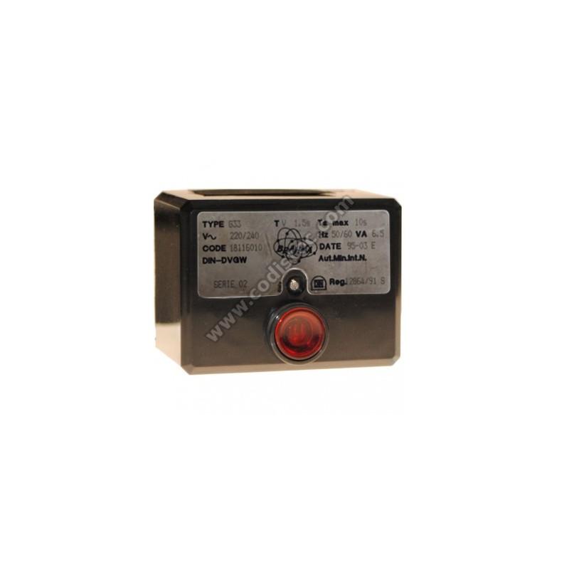 Brahma Type G33 code 18116010