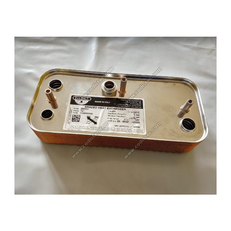 Permutador 14 placas para Format Zip 4-25 BF