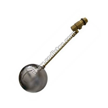 """Filler tank valve 1/2 """" stainless Buoy"""