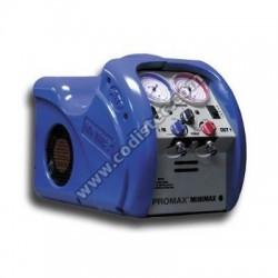 Recuperador e carga de refrigerante Minimax E