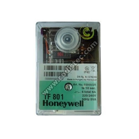 Controlador HONEYWELL TF 801