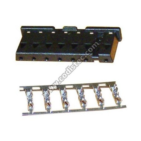Plug 7 pins electronic controller BRAHMA Type CM