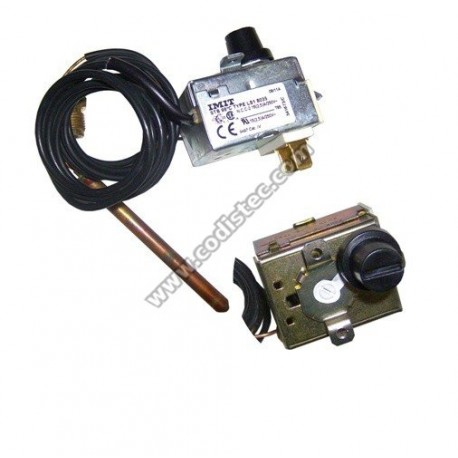 Thermostat with manual reset 98ºC / 100ºC