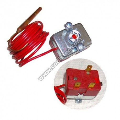 Thermostat adjustment shaftless 0 º to 90 º
