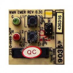 Placa Electronica Electra WMN EMER REV 0.3C
