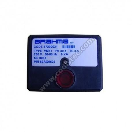 Controlador electronico BRAHMA Type VM41 37200031