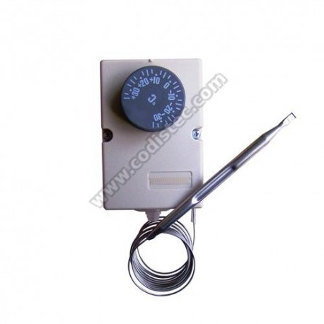 Adjustable thermostat stainless steel capillary -35 º to +35 º