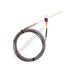 Sonda termopar K -40º a +1000º 3mt