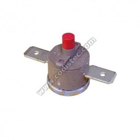 Termostato de segurança com rearme manual