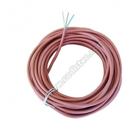 Silicone electric cable 3 x 1mm2