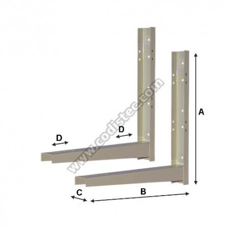 Brackets for air conditioning 500x400