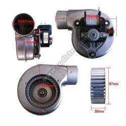Ventilador para ar quente Type C30R CLF