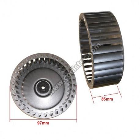 Turbina centrifuga 97x35x6