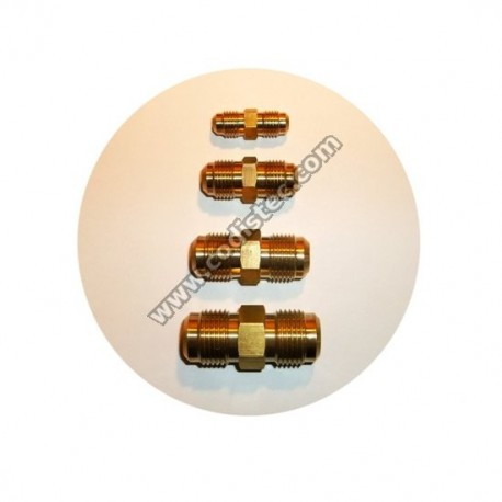 """Male coupling 1/4"""" x 1/4"""" SAE"""