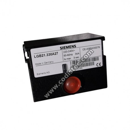 Controlador Electrónico LGB21.330A27