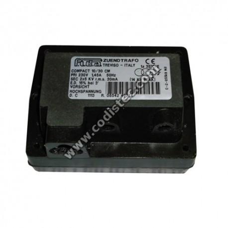 FIDA ignition transformer compact 10/30 CM 2x5kv