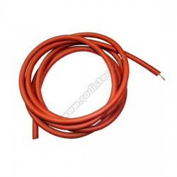 High Voltage Silicone Cable 6.35mm x 1.50mm