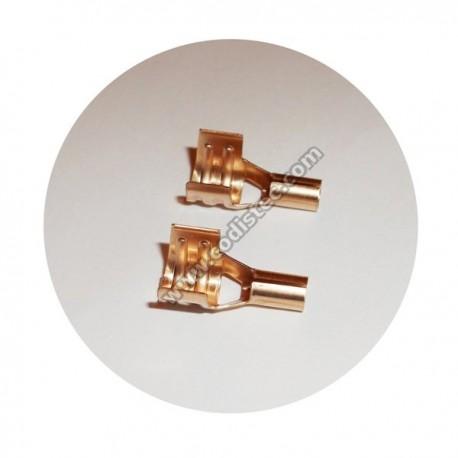 Terminal para electrodo de ignição 4 x 6.80
