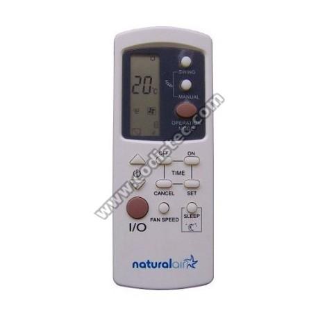 Comando ar condicionado naturalAir