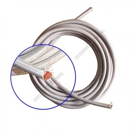 Cabo alta tensão silicone 7mm x 1mm