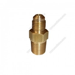 "Union bushing male 1/4"" SAE X 3/8"" NPT"