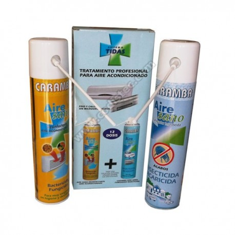Kit tratamento de ar condicionado