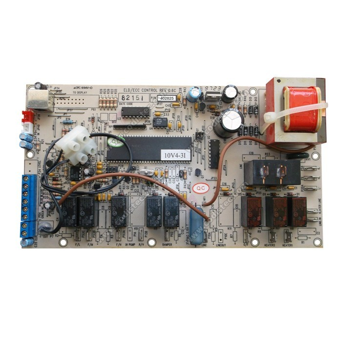 About Rebuilt Miller Electric Circuit Card Assembly Board Pcb 152371