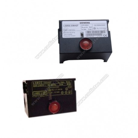 Electronic controller LGB21.330A27