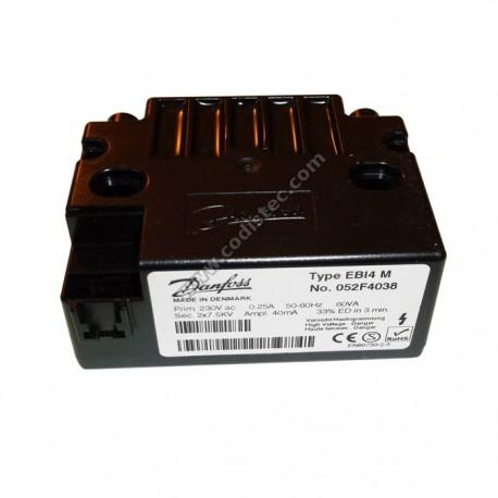 Ignition transformer Danfoss EBI4 M 052F4038 2X7,5KV