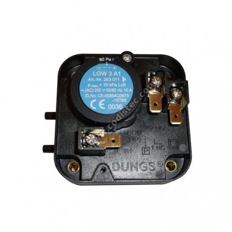 Pressure Switch Dungs LGW3A1
