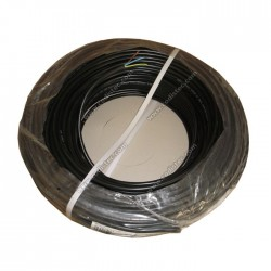 Flexible electrical cable H05VV-F 3x1mm2