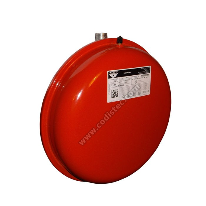 "Expansion vessel Zilmet 541L 8 liters 3/4 ""M - Codistec"