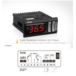 Digital thermostat FX3D 150ºC